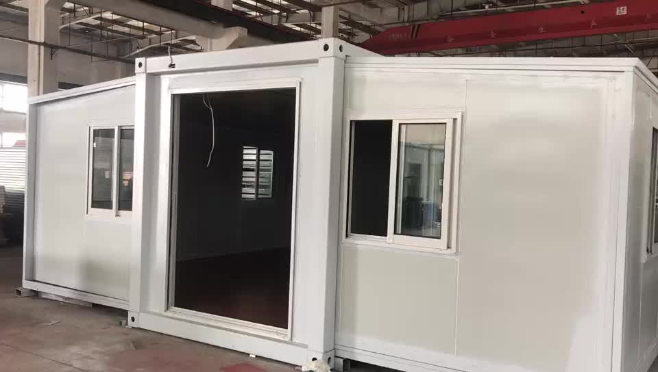 3 Bedrooms Villa  Prefab Houses Expandable Container House Luxury