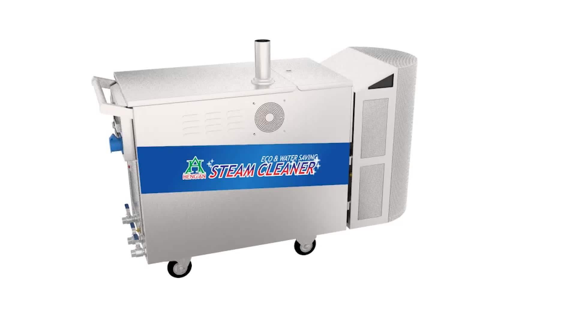 HA1190 LPG Gas Mobile 2 Jets Steam Car Washer