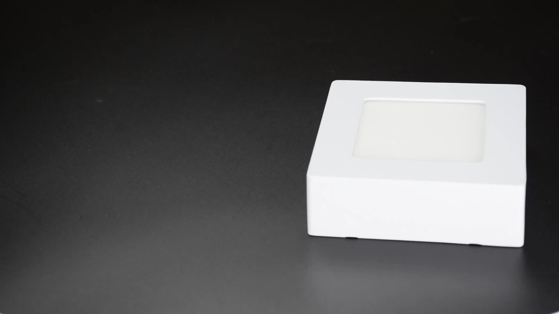 led panel light 18w  Surface Mounted  High quality Square Led Ceiling Light for office led tile light