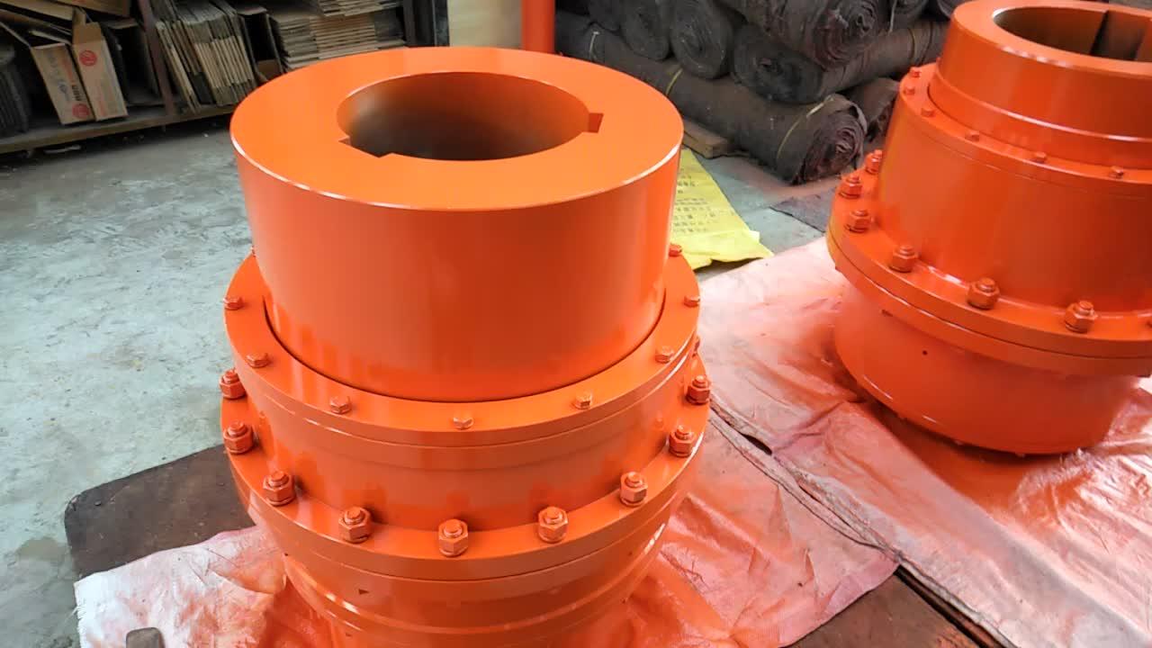 Venta caliente giicl estándar flexible limitador del par tipo tambor motor de engranaje de acoplamiento