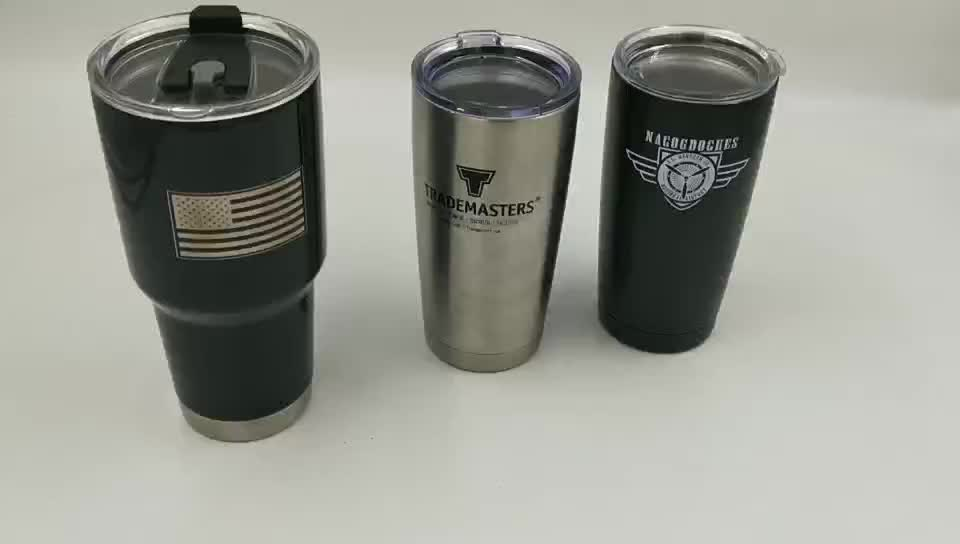 Wholesale 32oz Double Wall Vacuum Insulated Travel Mugs with logo
