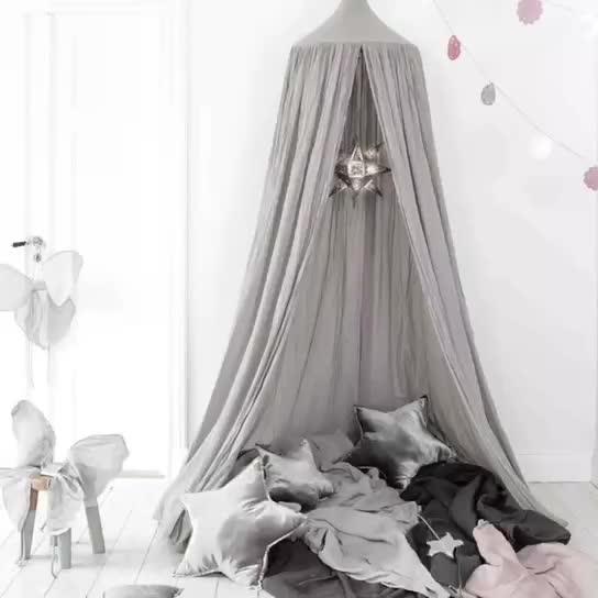 New custom design principessa dei capretti dei bambini giochi al coperto letto a baldacchino tenda giocattolo