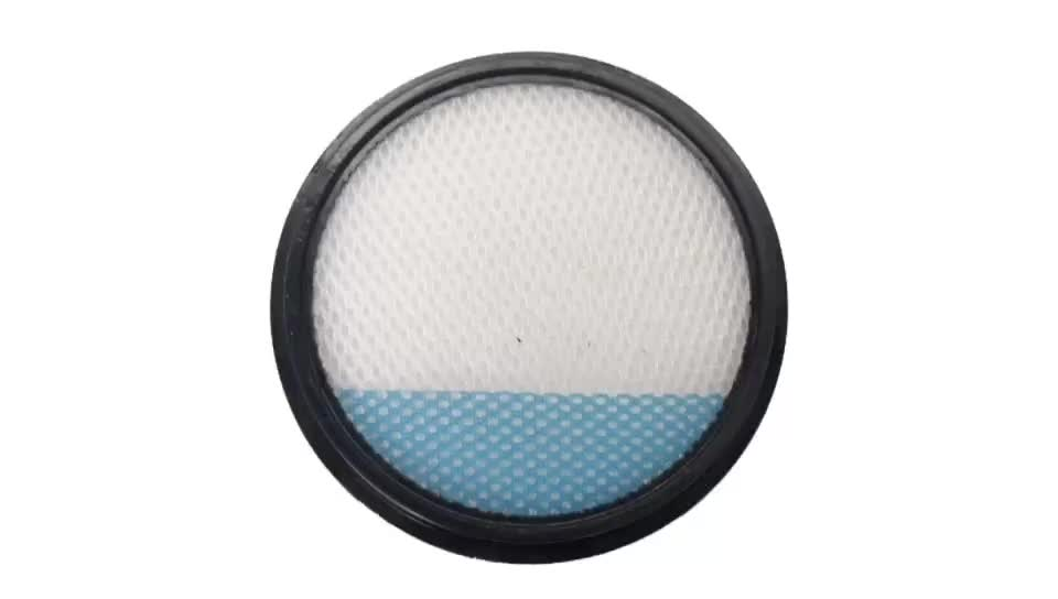 Washable Round Pre Motor Cotton Filter Replacements for VAX Blade Tiger 32V 24V TBT3V1P1 TBT3V1B2 TBT3 Vacuum Cleaner
