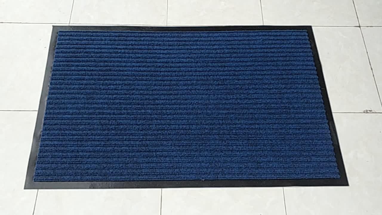 Anti-slittamento del PVC zerbino per interni porta striscia stuoia