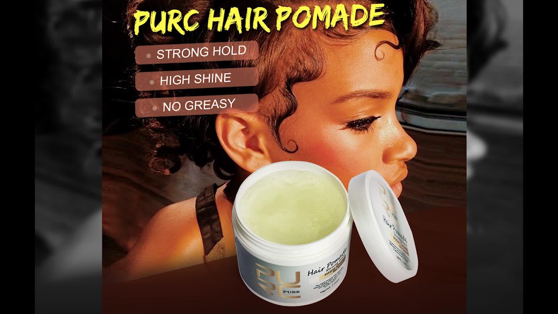 العلامة الخاصة 48 ساعة قوية عقد التصفيف الطبيعي شمع للشعر تامر لا رقائق للغاية حافة الشعر دهن العلامة الخاصة