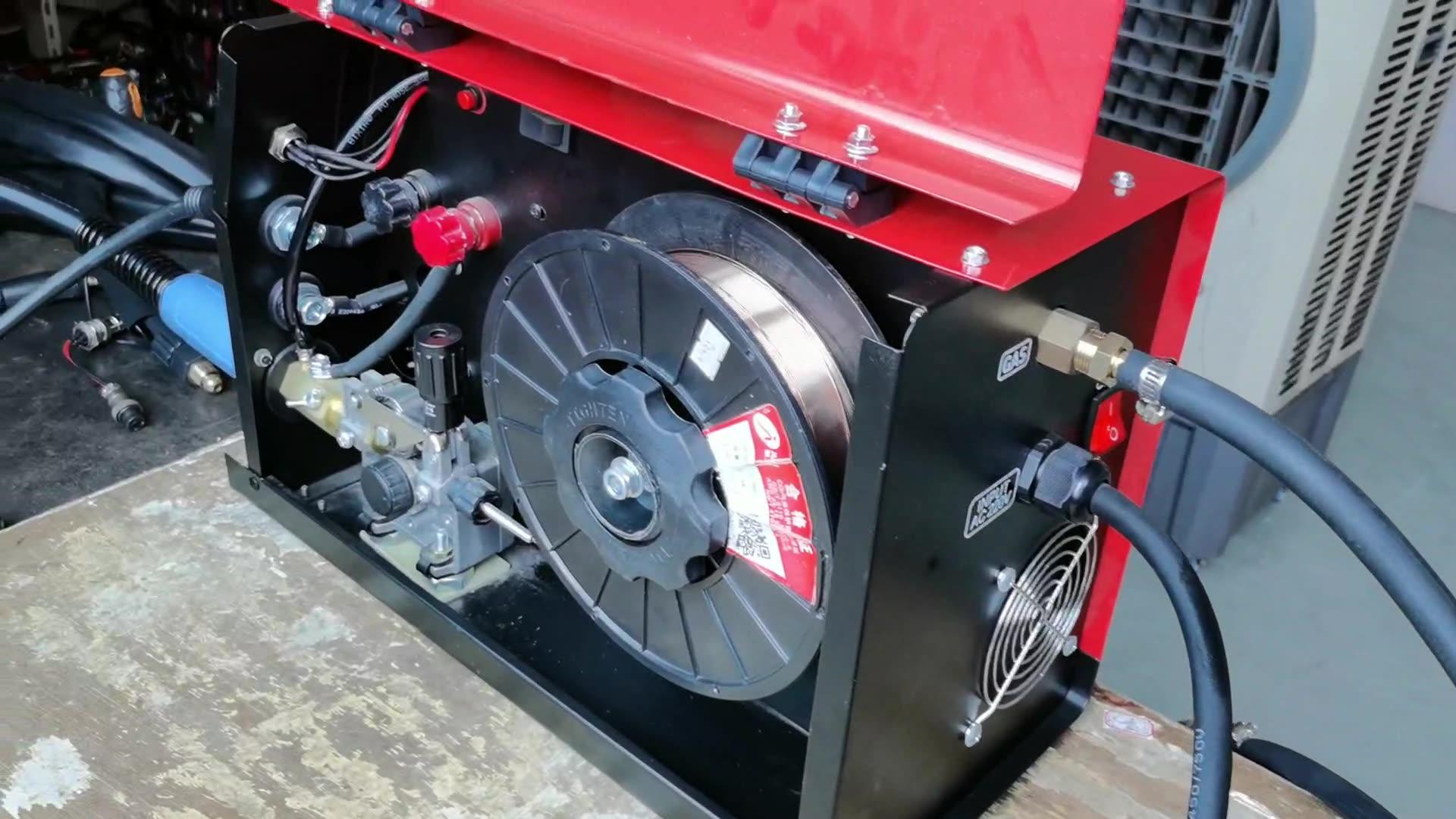 lotos mig175 welder  maquina de soldar tig mma y mig a 110 y 220v with flux cored wire feeder mig spool gun