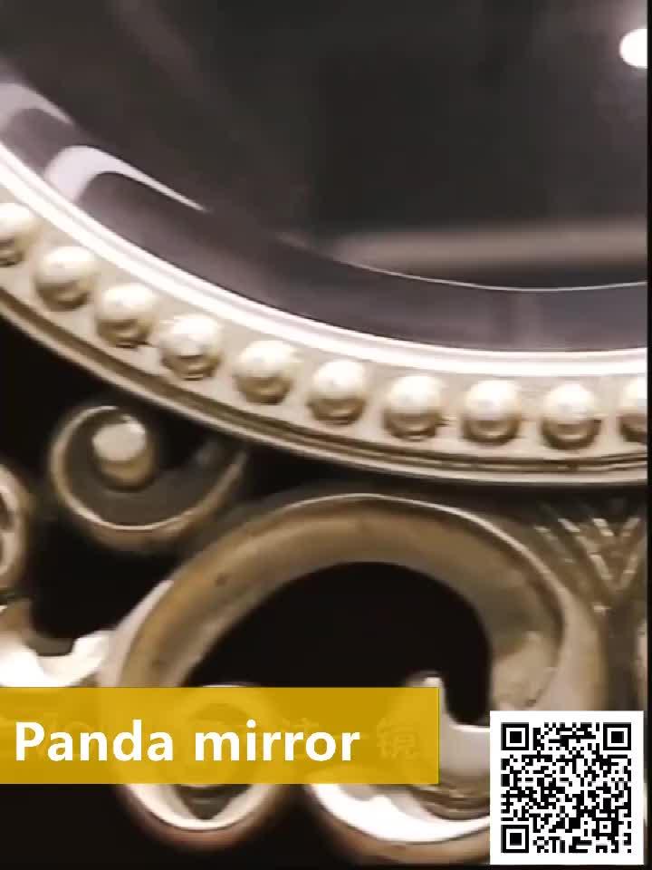 MOK Luxury Decorative Framed Wall Resin Mirror For Bedroom