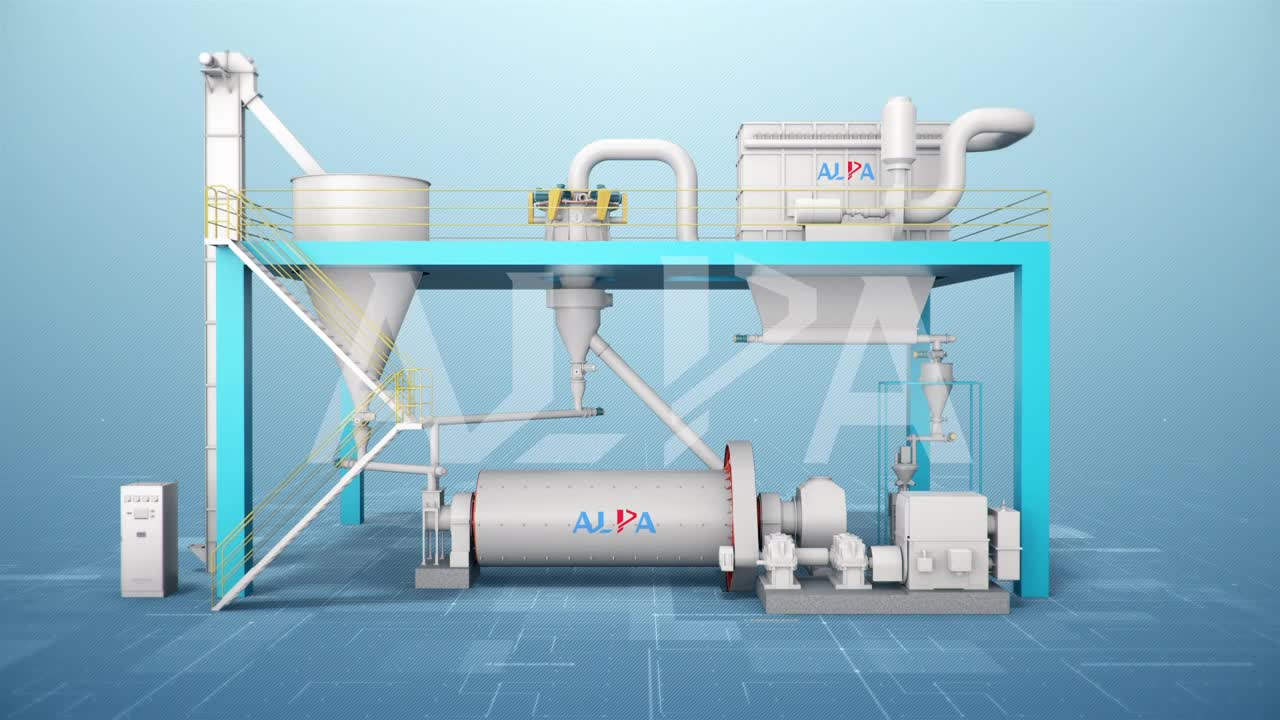 Ball Mill And Classifying Production Line Precipitated Calcium Carbonate Plant Stone Powder Grinding Machine
