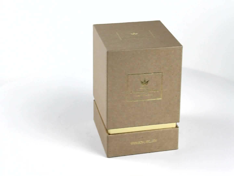 高品質の高級カスタム段ボール紙ギフト包装キャンドルボックスギフトボックスカスタム香水ボックス