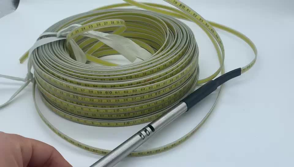 150m measuring steel ruler tape with probe