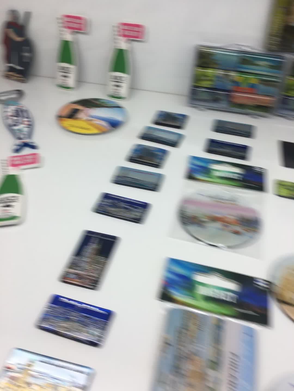 Sản phẩm mới bán buôn trực tiếp nhà sản xuất du lịch lưu niệm quà tặng khuyến mãi nhà trang trí tùy chỉnh epoxy nam châm tủ lạnh