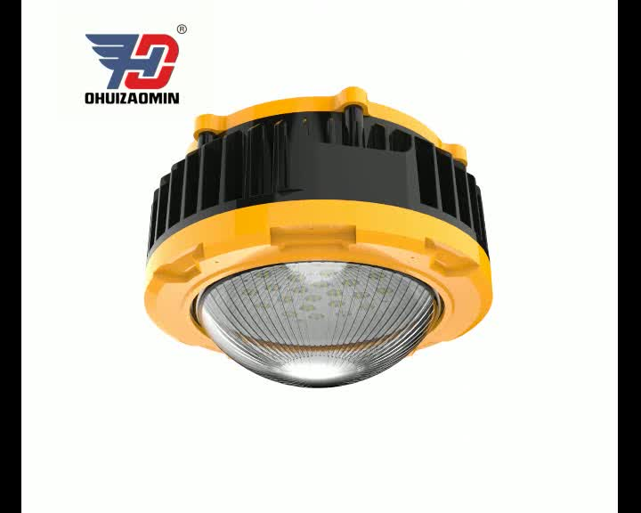 ATEX approval ex light fitting 60w led explosion proof light