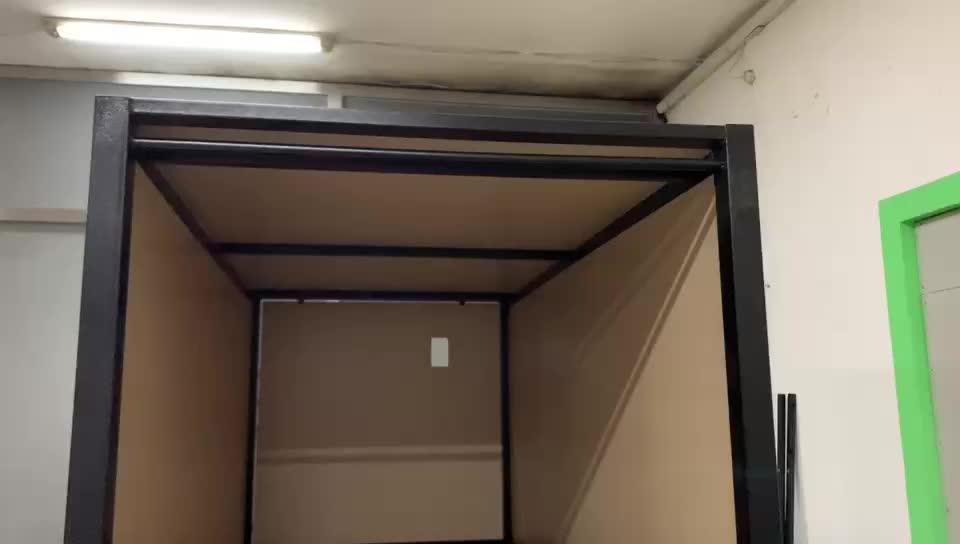 Yüksek kaliteli metal çerçeve ahşap panel hostel mobilya kapsül ranza okul yurdu için, yetişkin hostel ve otel
