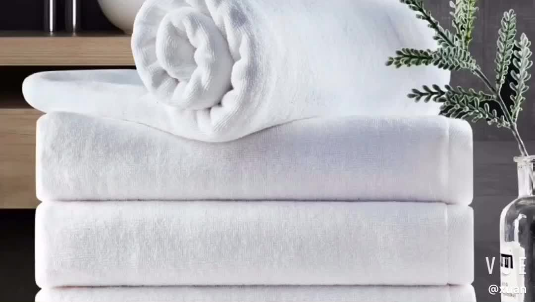 35*75cm 30*30cm custom size cotton 5 star hotel quality hand and face towel