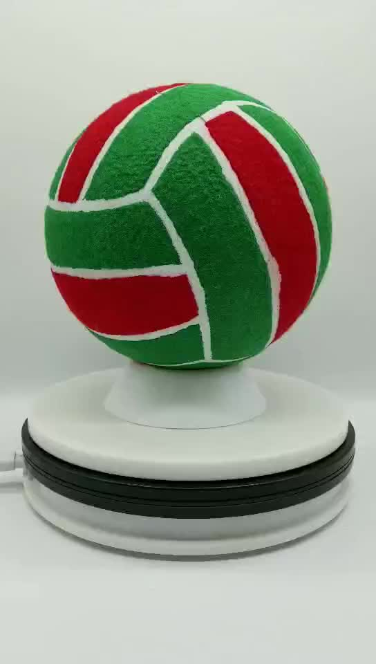 Customized Design 8 Inches Eco Friendly Hot Sales Promotional Inflatable Tennis Ball with Volleyball Shape