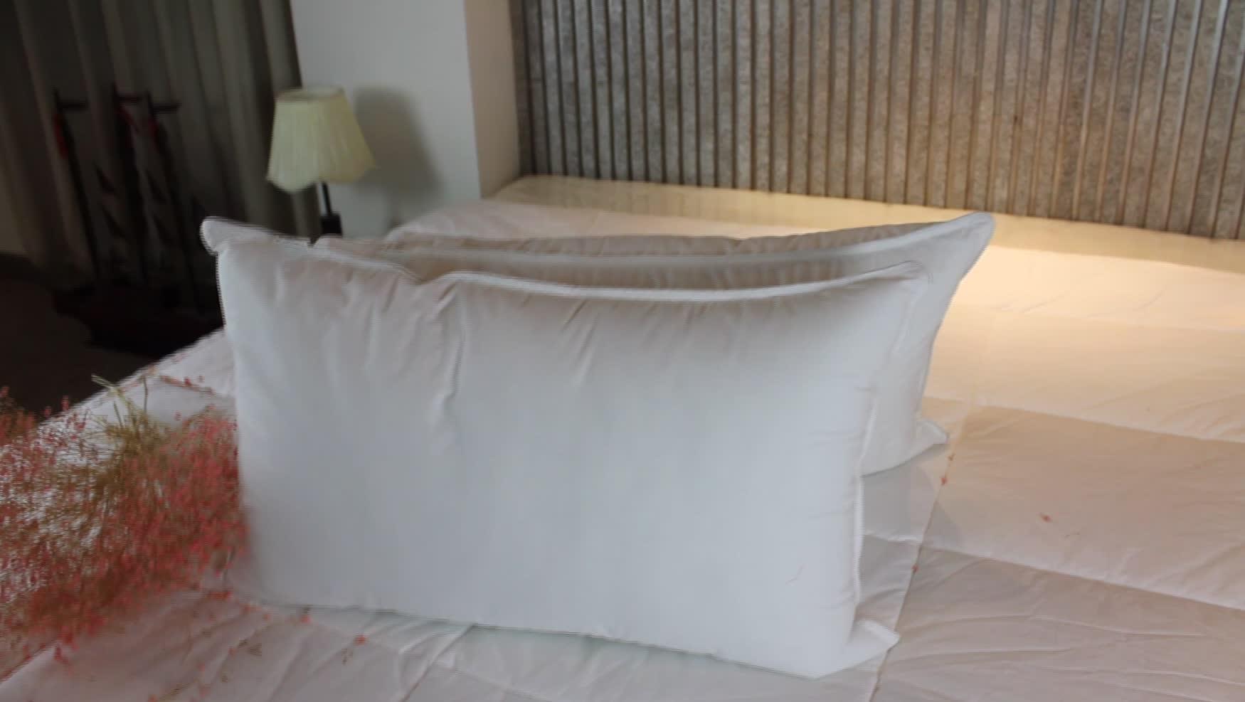hot cake wholesale cheap best duck feather down insert hotel pillow