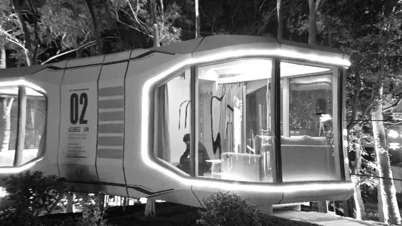 Inficreation Nhật Bản Cách Âm Ngủ Hộp Viên Nang Khách Sạn Pod