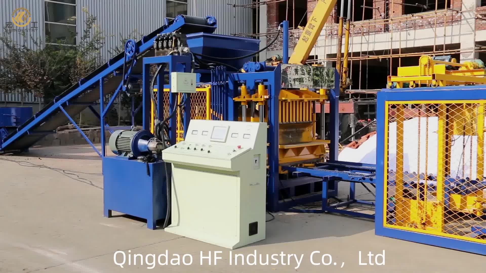 QT4-16 blocchi di interblocco pavimentazione idraulico della macchina completamente automatica cemento cava produzione di blocchi di cemento macchina per la vendita