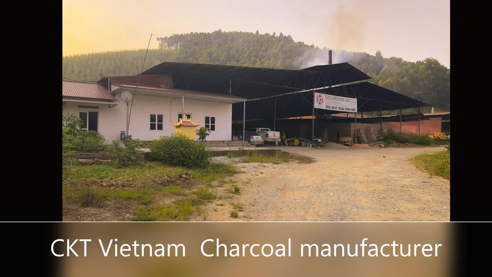 HIGH QUALITY OF COCONUT SHELL CHARCOAL - 100% POLLUTION FREE
