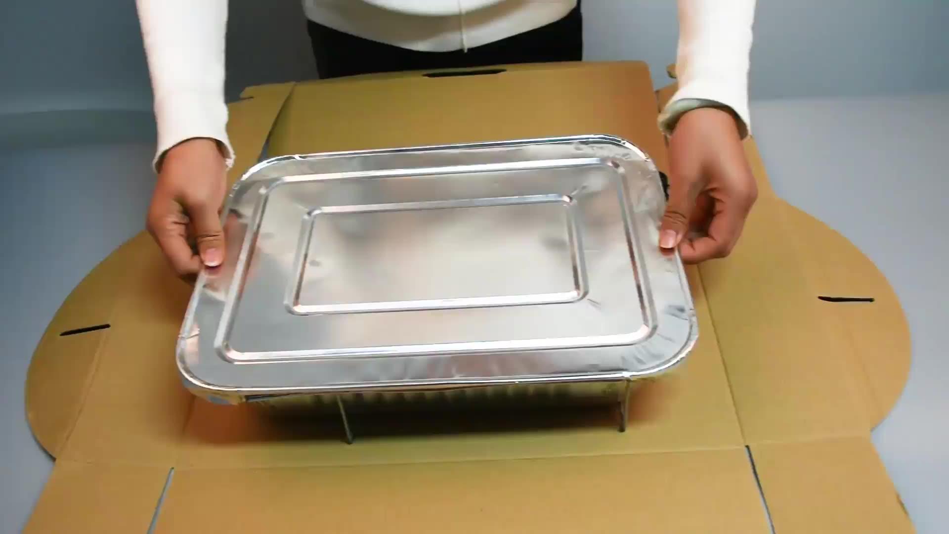 food baking disposable aluminum foil pizza pan baking pans aluminum foil container