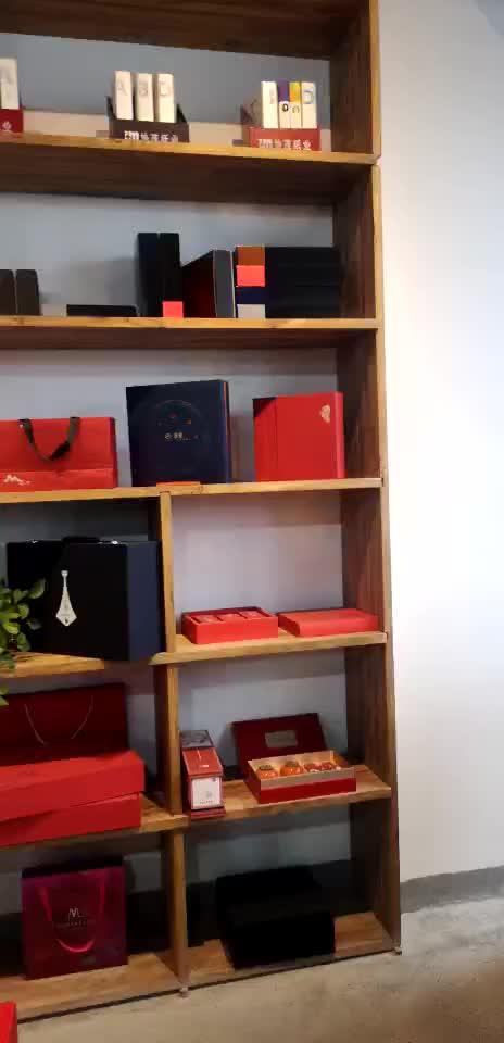 Custom luxe man riem geschenken box voor riemen verpakking lade box