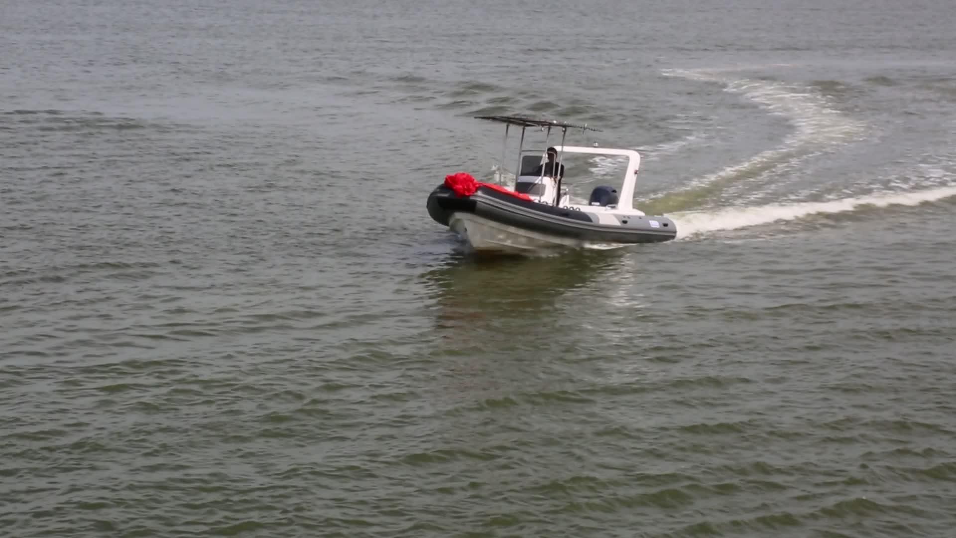 3.6 m-8.65 メートルヘビーデューティー亜鉛メッキボートトレーラー/ヨットトレーラー