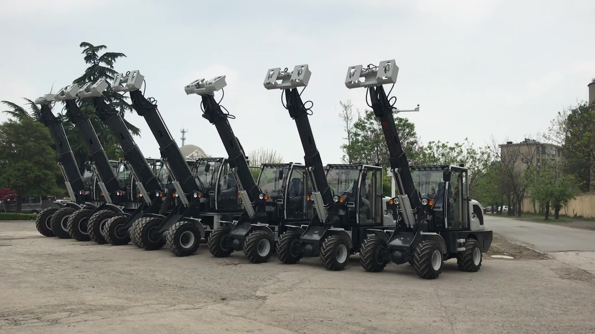 Hongyuan Brand Telescopic Wheel Loader HY1500 with CE