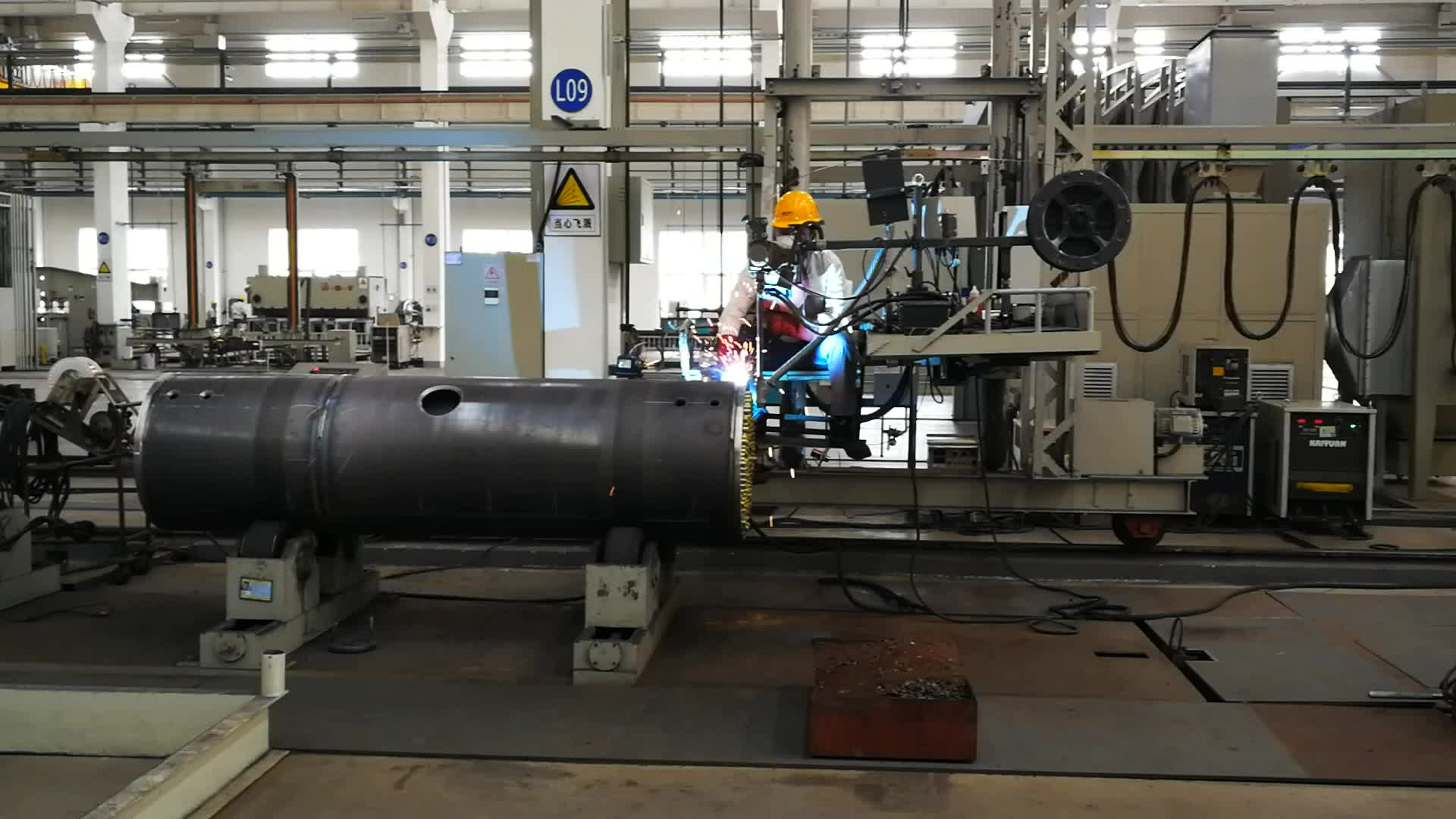 Qualified low pressure vessel for oil separator
