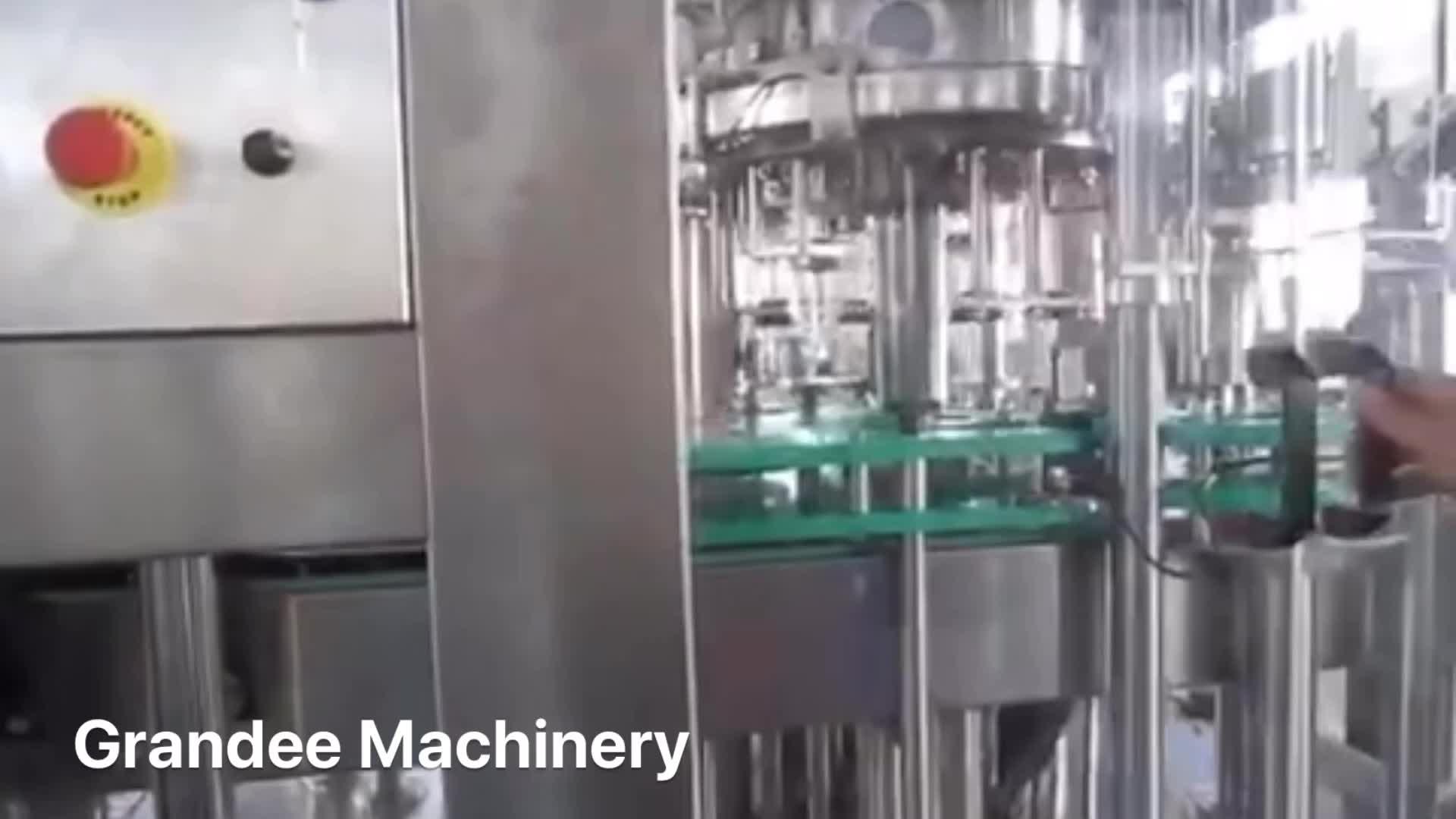 BGF6-6-1 automatische crown cap bier füllung und capping maschine/bier füllstoff
