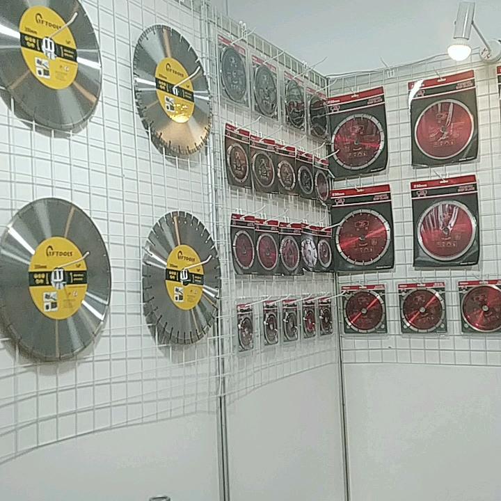 115mm * 10mm ampliar irán ISO9001 certificado segmentado Turbo Borde de hoja de sierra de diamante para seco disco de corte
