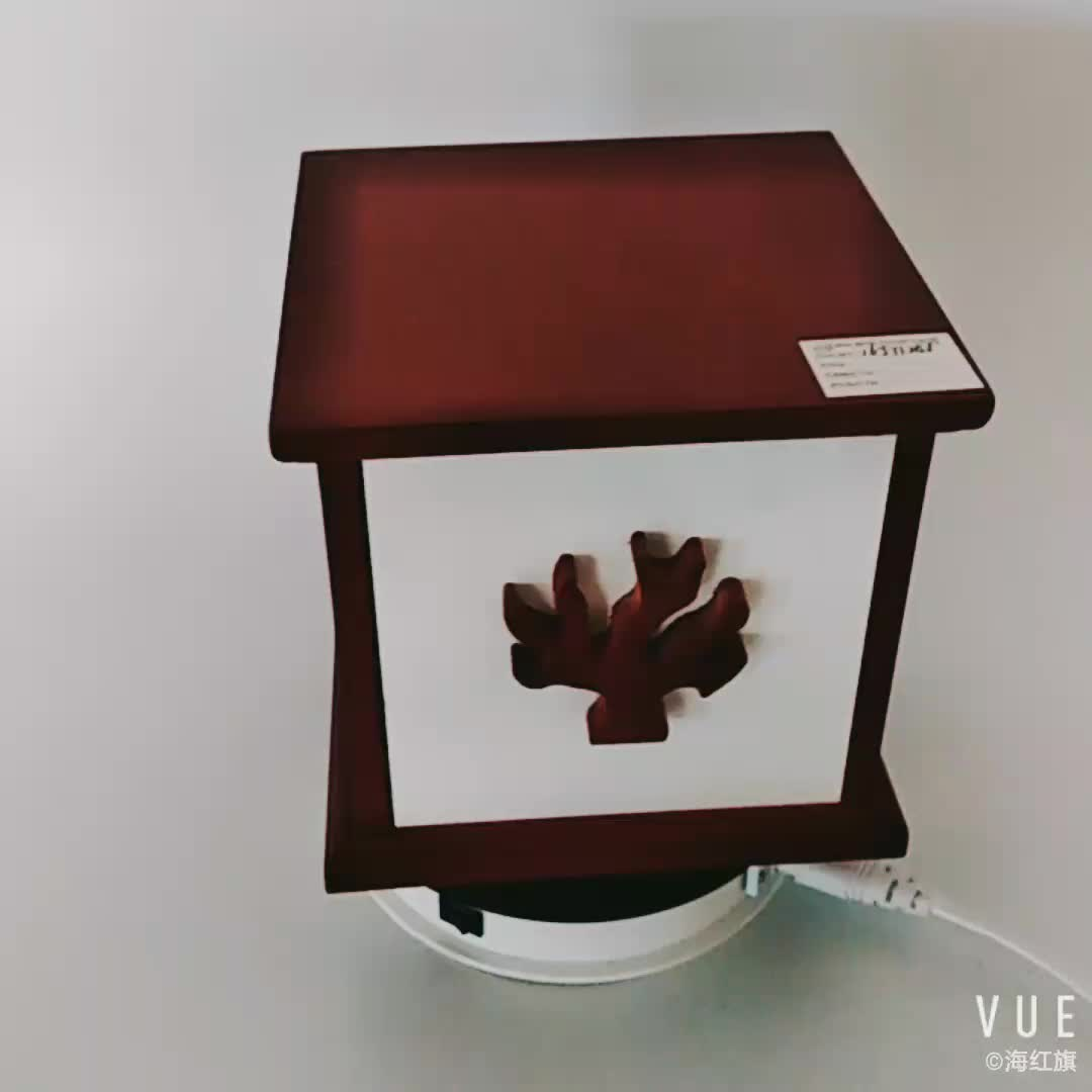 Wholesale square home decoration wooden packing gift box