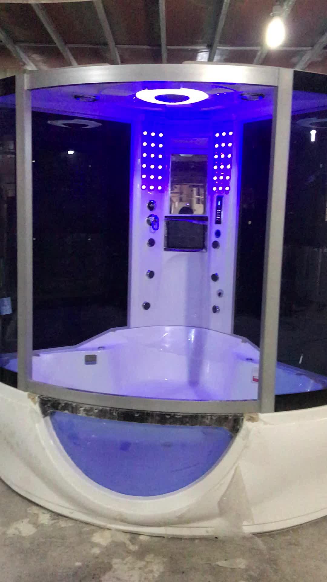 Hot Jual Uap Kamar Mandi Cubicle dengan Lampu LED