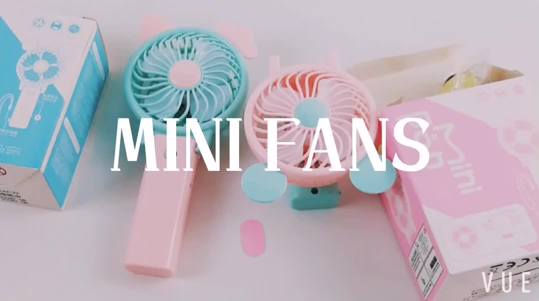 Cheap iron colorful portable usb mini fan for promotion gifts