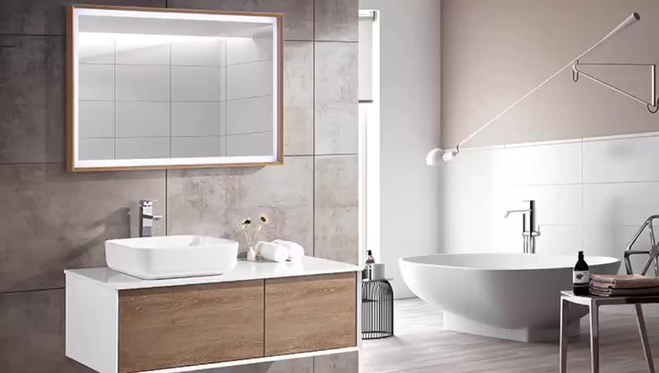 Popular modern bathroom storage 1000mm luxury bathroom vanity unit