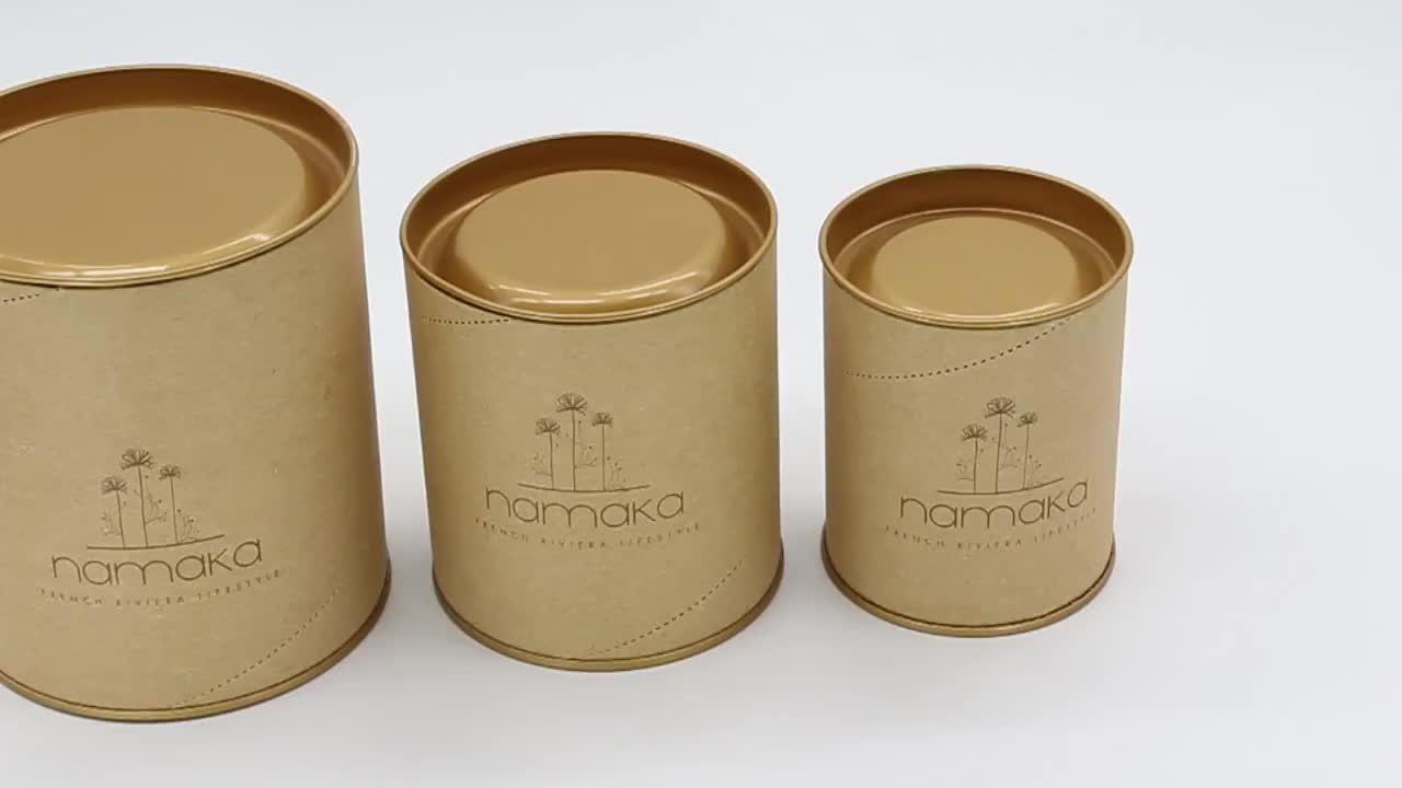 Оптовая продажа пользовательские бумага роскошный картон Подарочная коробка Китайский травяной чай лист олова упаковка