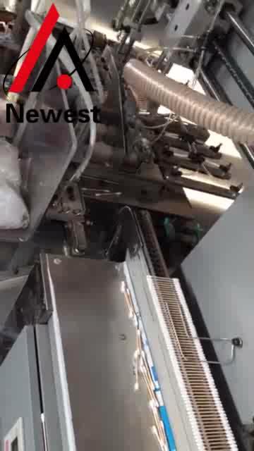 Hohe Qualität Kosmetische Baumwolle Knospe Forming Maschine Alkohol Baumwolle Tupfer, Der Maschine