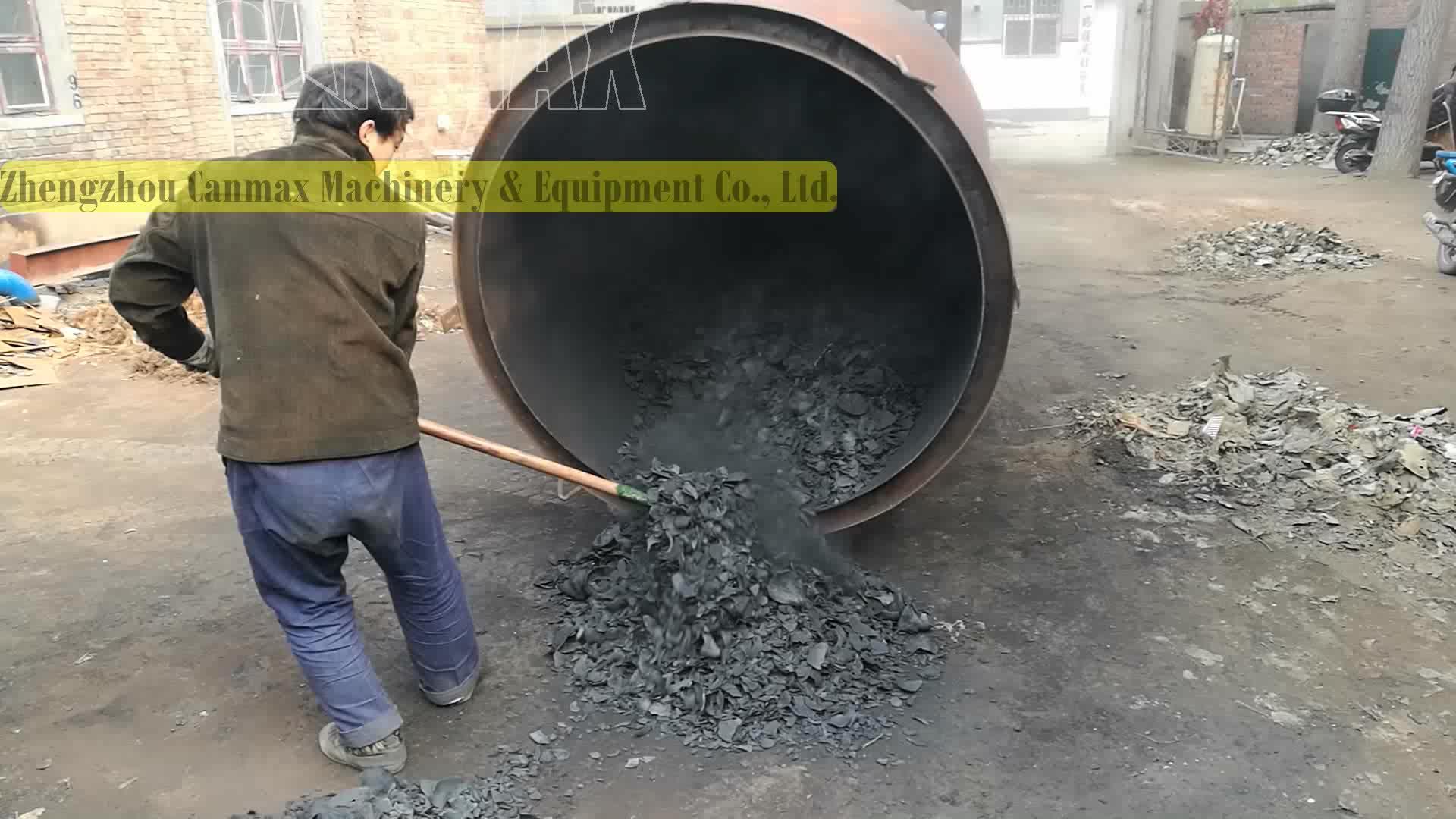 Briquetas de carbón que hace la máquina/activado de carbón de bambú/máquina de Malasia carbón línea de producción