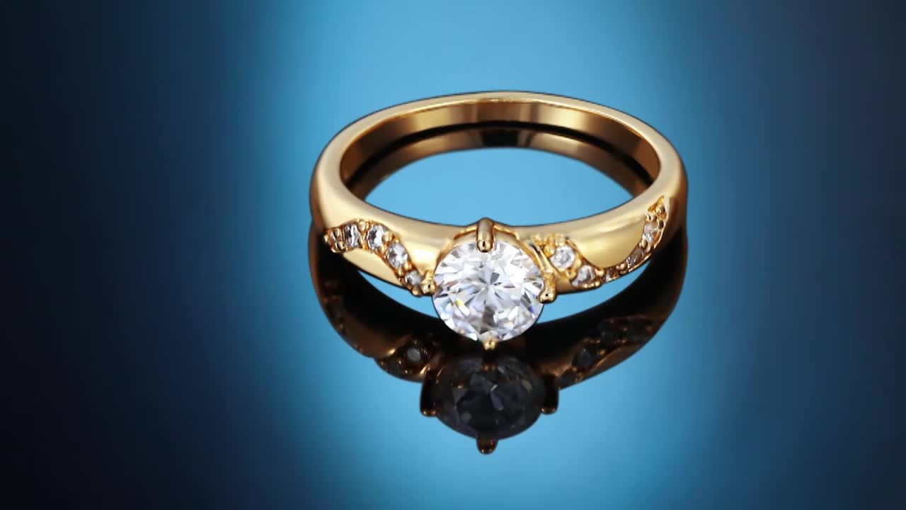 13959-Xuping Good Quantity Cheap Price Diamond Ring Jewellery, rings gold 18k