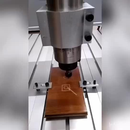 3020 pequeño Router carpintería máquina de talla de madera con Mach 3 controlador