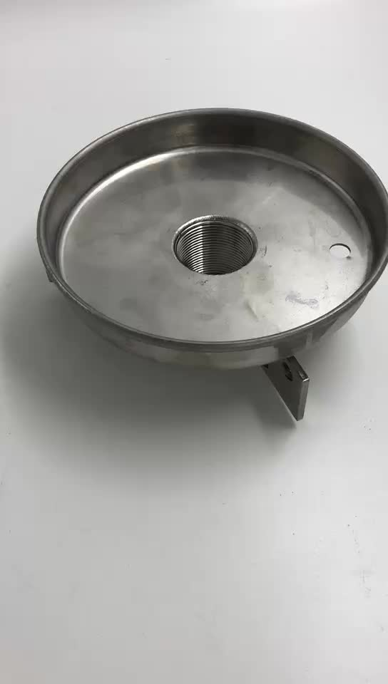 Custom Fabrication 316 stainless steel skimmer base for oily water treatment