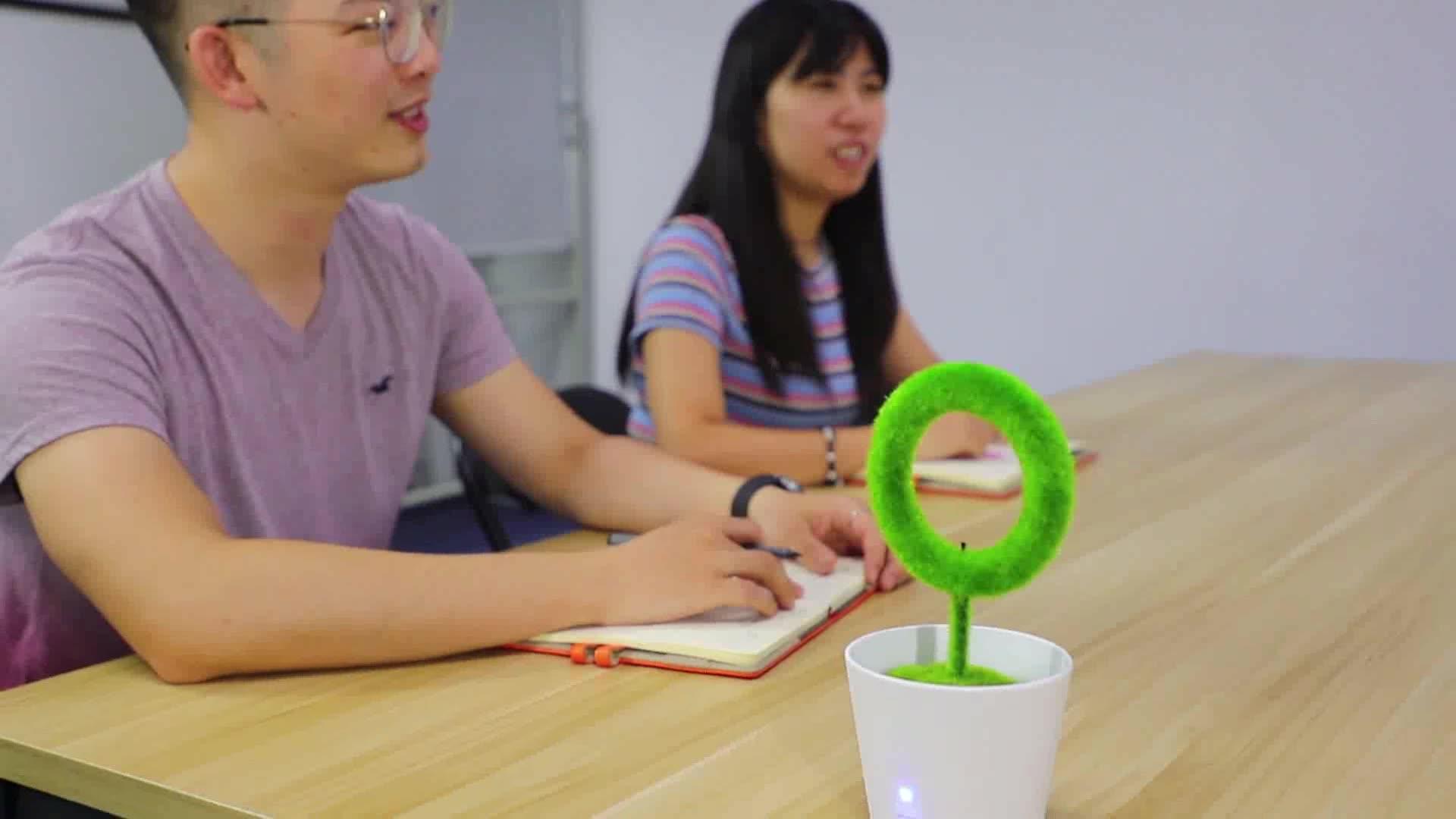베스트 셀러 2020 최신 디자인 데스크탑 식물 공기 청정기 뜨거운 혁신적인 신제품