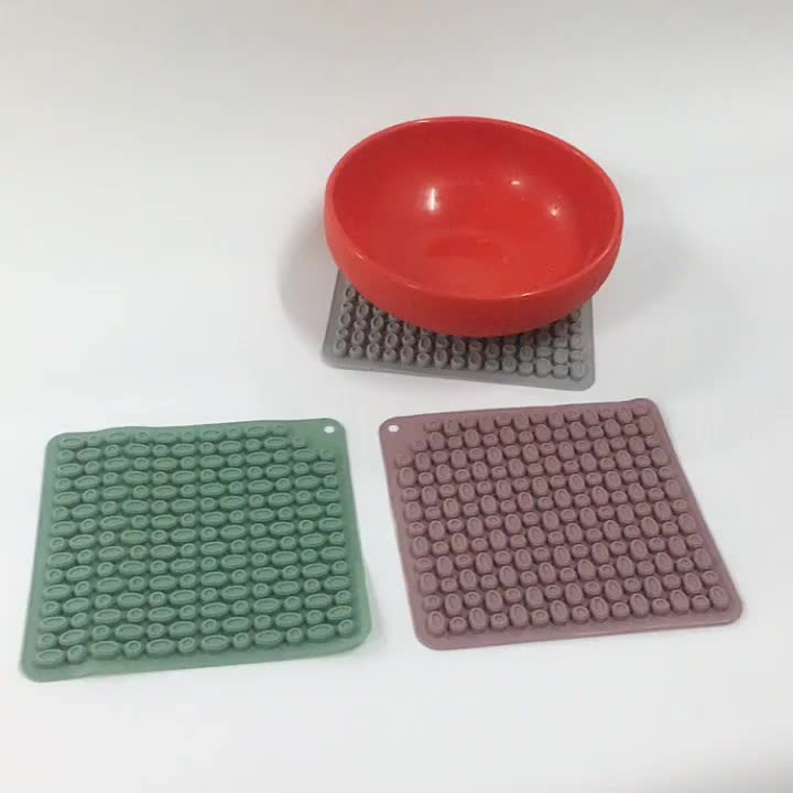 High Temperature Resistance Non-toxicity Silicone Dining Table Placemat