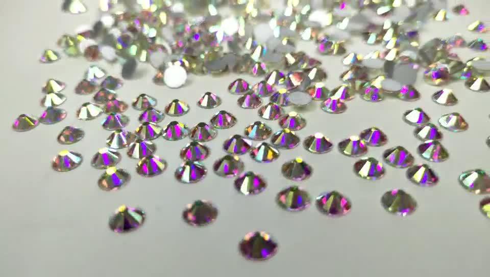 Diy Losse Glazen Zilver Terug Niet Hotfix Plaksteen Strass, Groothandel Charms Crystal Rhinestones Ontwerpen Voor Kleding