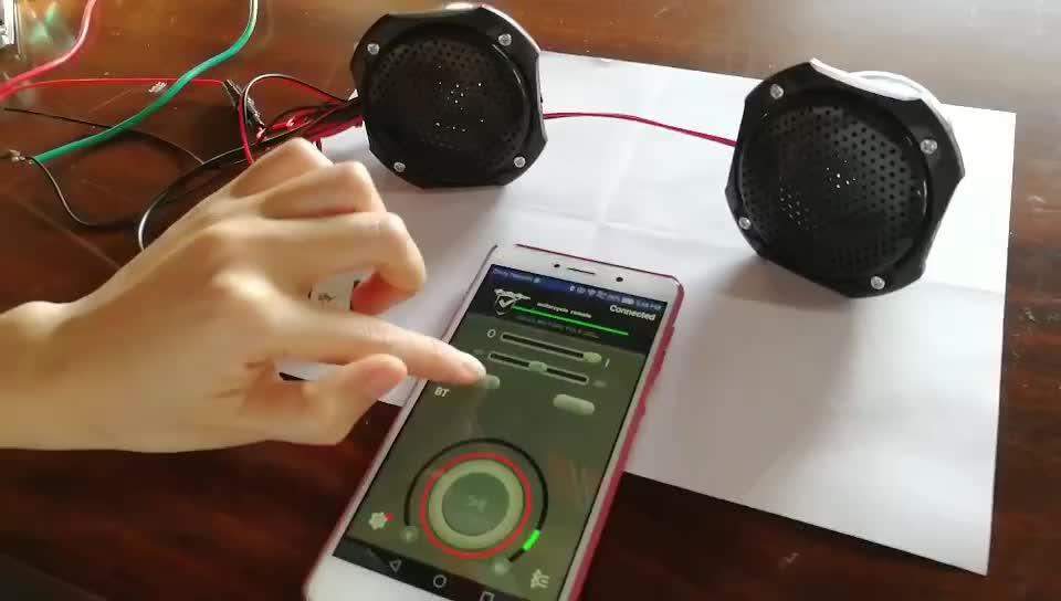 Altoparlanti Bluetooth del motociclo mp3 usb lettore audio del motociclo di trasporto di allarme