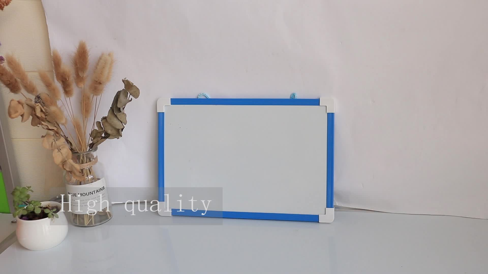 Wholesale Dry Erase Frame Less Writing Double or Single Sided Mini Kids School Magnetic White Board Prices