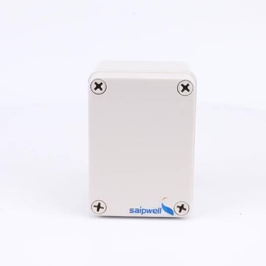 ABS waterproof IP66 waterproof hinged plastic box DS-AG-0811-1
