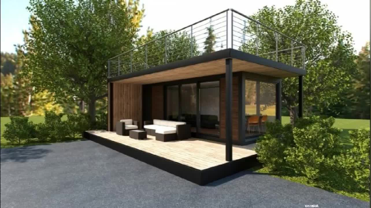 modern popular prefabricated container coffee shop for sale