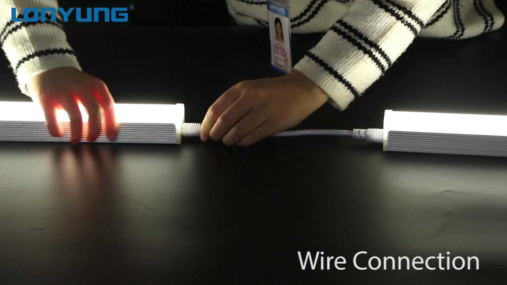 Linkable 선형 Led 조명 빛, 30W 4Ft 1.2m T5 통합형 튜브 전등 ETL DLC