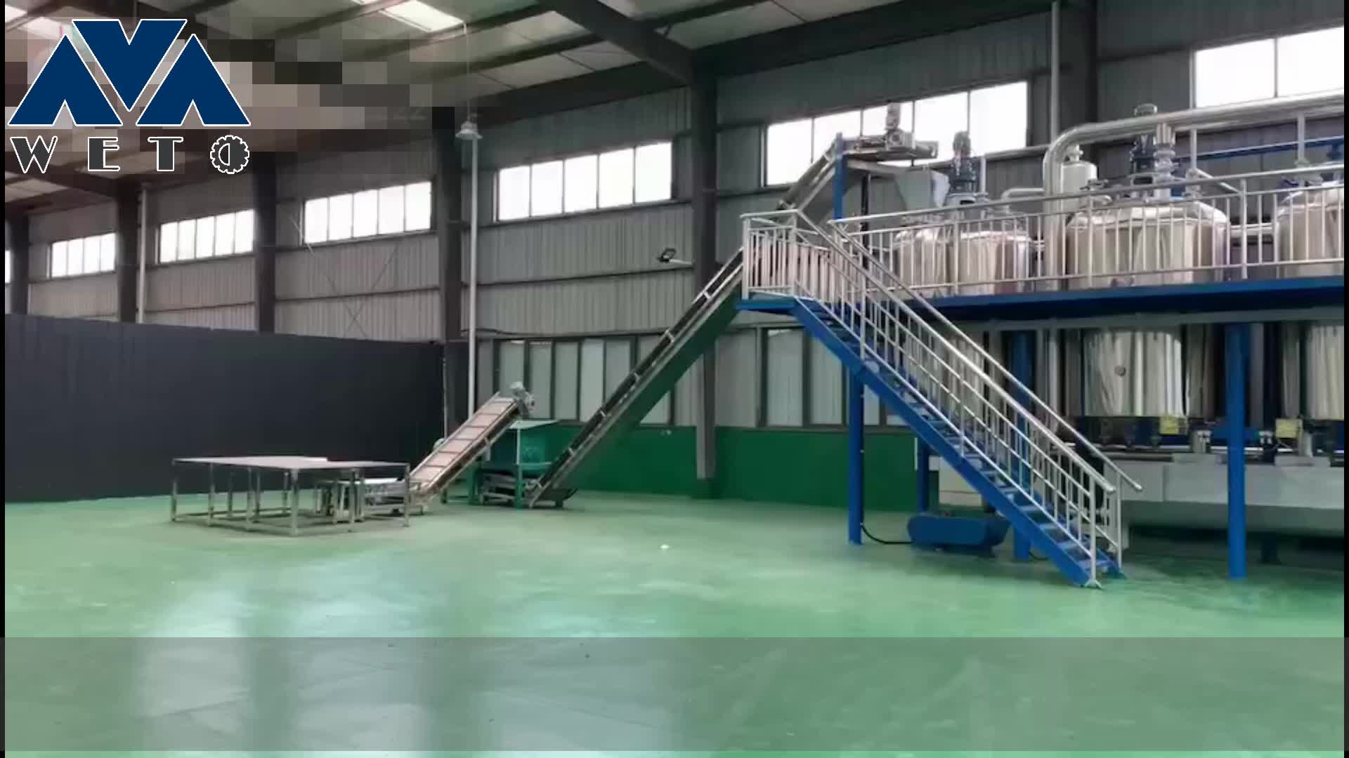 animal grease oil processing machine made in china