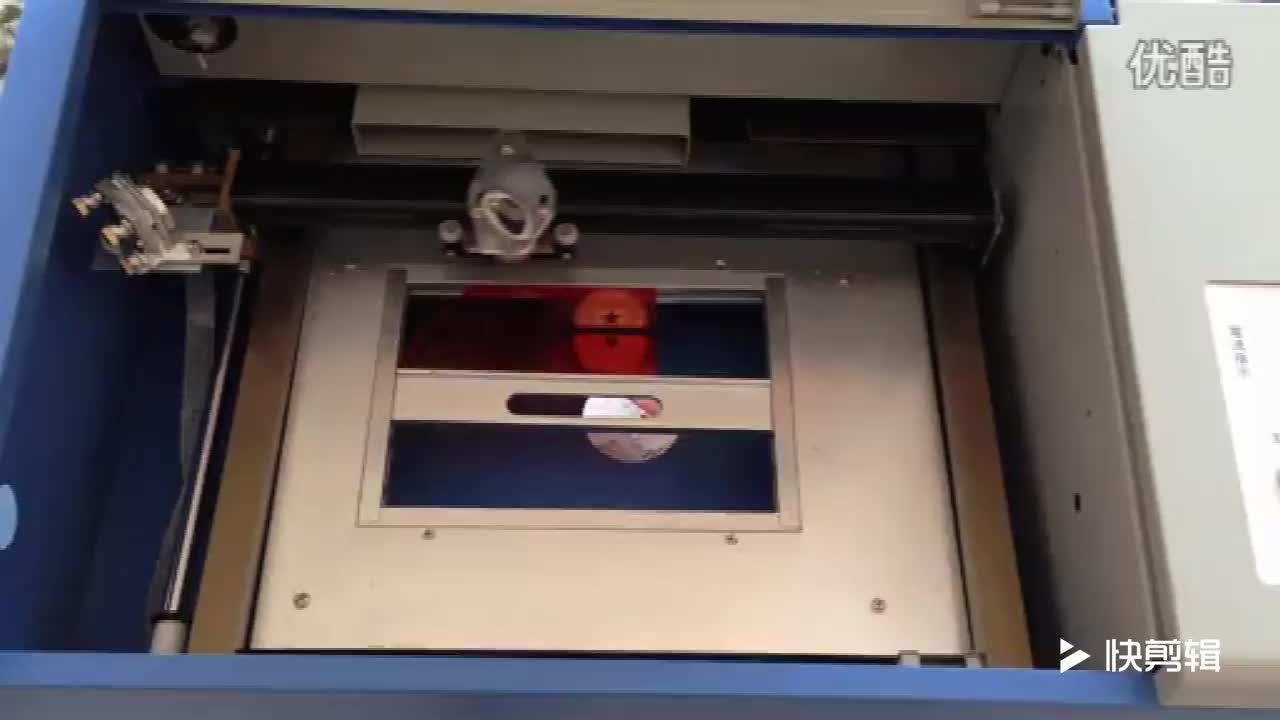 CO2 3D คริสตัลเลเซอร์ 40 วัตต์ USB Cooling แกะสลัก